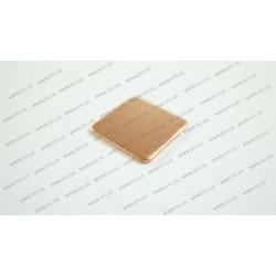 Медная подкладка (15*15*1.2мм, 384 w/m-K) для ноутбуков