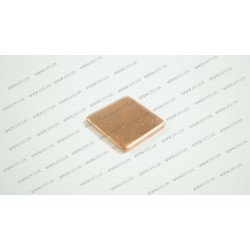 Медная подкладка (15*15*1.5мм, 384 w/m-K) для ноутбуков