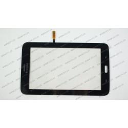 Тачскрин (сенсорное стекло) для Samsung Galaxy Tab 3 T111, 07.0, черный (3G version)
