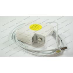 Оригинальный блок питания для ноутбука APPLE MagSafe 18.5V, 4.6A, 85W, 5pin, White (без переходника питания), L-образный разъём MagSafe (A1343)