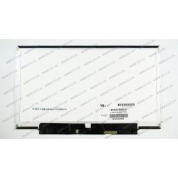 Матрица 13.3 LTN133AT27 (1366*768, 40pin, LED, SLIM (горизонтальные планки), глянец, разъем справа внизу) для ноутбука