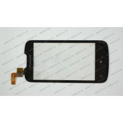 """Тачскрин (сенсорное стекло) LENOVO A690, 4.0"""", черный"""