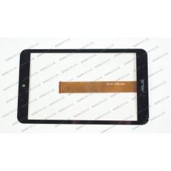 Тачскрин (сенсорное стекло) для ASUS Memo Pad 8 ME181, ME181C, 08.0, черный