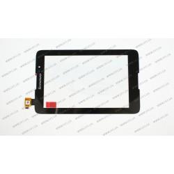 Тачскрин (сенсорное стекло) для LENOVO IdeaTab A3500, A7-40, A7-50, 07.0, черный