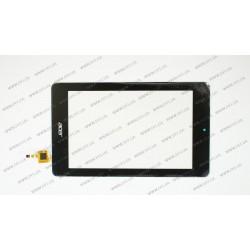 """Тачскрин (сенсорное стекло) для ACER Iconia One B1-730,  07.0"""", черный"""