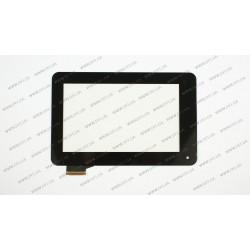 Тачскрин (сенсорное стекло) для ACER Iconia One B1-710, B1-711,  07.0, черный