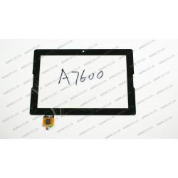 Тачскрин (сенсорное стекло) для LENOVO IdeaTab A7600, A10-70,  10.1, черный