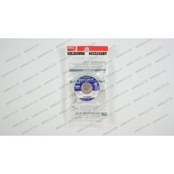 Медная лента-оплетка для выпайки GOOT CP-3015, 150см (синий шильд)