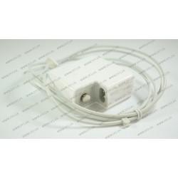 Блок питания для ноутбука APPLE MagSafe 14.5V, 3.1A, 45W, white, квадратный, с евро-адаптером, T-образный разъём MagSafe