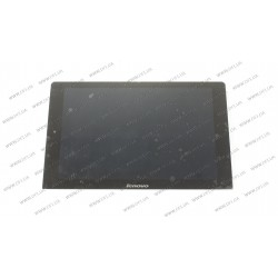 Тачскрин (сенсорное стекло) + матрица (N101ICE-G61) LENOVO Yoga Tablet 10 B8000 series  10.1, черный