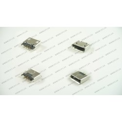 Разъем microUSB MUJ009 для планшета, телефона