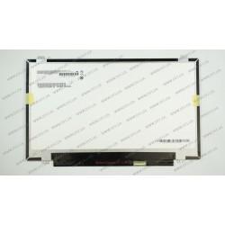 Матрица 14.0 B140RTN02.3 (1600*900, 30pin(eDP), LED, SLIM (вертикальные ушки), матовая, разъем справа внизу, for ASUS G46, Lenovo S3) для ноутбука