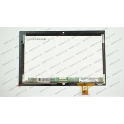 "Тачскрин (сенсорное стекло) + матрица (LP101WH4-SLA3)  для LENOVO ThinkPad Tablet 2, 10.1"", черный"