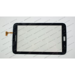 Тачскрин (сенсорное стекло) для Samsung Galaxy Tab 3 T210, 7.0, черный (WiFi Version)