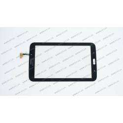 Тачскрин (сенсорное стекло) для Samsung Galaxy Tab 3 P3200, P3210, T2100, T2110 7, черный