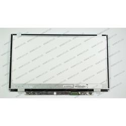 Матрица 14.0 N140BGE-E43 (1366*768, 30pin(eDP), LED, SLIM ( вертикальные ушки), глянцевая, разъем справа внизу) для ноутбука