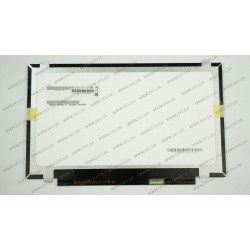 Матрица 14.0 B140RTN03.0 (1600*900, 30pin(eDP), LED, SLIM (вертикальные ушки), матовая, разъем справа внизу, for ASUS G46, Lenovo S3) для ноутбука