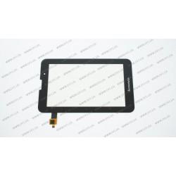 Тачскрин (сенсорное стекло) для Lenovo IdeaTab A5000, 7, черный