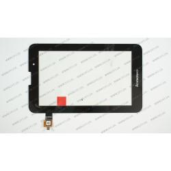 Тачскрин (сенсорное стекло) для Lenovo IdeaTab A3000, A5000, 7, черный
