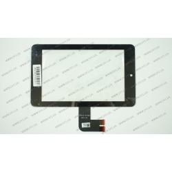 Тачскрин (сенсорное стекло) для ASUS MeMO Pad ME173, ME7310, series 7, черный
