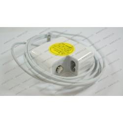 Оригинальный блок питания для ноутбука APPLE MagSafe2 14.85V, 3.05A, 45W, White (без евро-адаптера), T-образный разъём MagSafe2 (A1436)