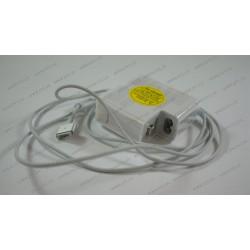 Оригинальный блок питания для ноутбука APPLE MagSafe2 16.5V, 3.65A, 60W, White (без кабеля)