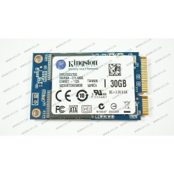 "Жесткий диск SSD Kingston 30Gb, SMS200S3/30G, SSDNow mS200, mSATA!!! MLC, 2.5"", зап/чт. - 510/550Мб/с"