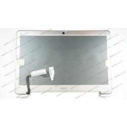 Матрица 13.3 B133XTF01.3 (крышка в сборе для Acer S3) (1366*768, 34pin, LED, SLIM, глянцевая, разъем справа внизу) для ноутбука (shampan)