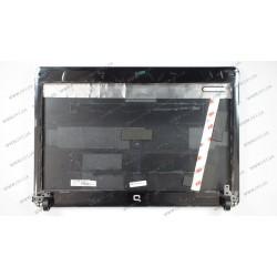 Крышка дисплея в сборе для ноутбука HP (Compaq: CQ510, CQ511, с пелями), silver