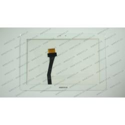 Тачскрин (сенсорное стекло) для Samsung Galaxy Tab 1, P7500, P7510, 10.1, белый (252*171)