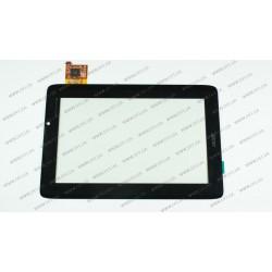 """Тачскрин (сенсорное стекло) для Acer Iconia TAB A110, 7"""", чёрный"""