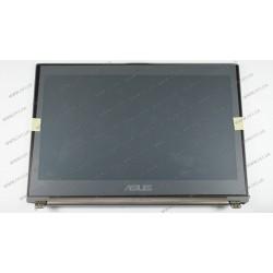 """Матрица 13.3"""" HW13HDP101 (крышка в сборе) (1366*768, 40pin, LED, SLIM (вертикальные ушки), глянцевая, разъем слева внизу) для ноутбука ASUS UX31E"""