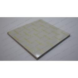 Термопрокладка силиконовая (100*100*3.00mm, 4.0 w/m-K) для ноутбуков