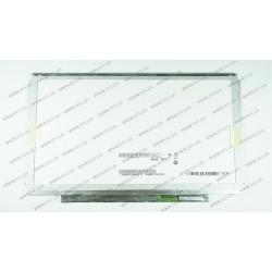 Матрица 13.3 B133XW03 V.1 (1366*768, 40pin, LED, SLIM (горизонтальные планки), глянец, разъем справа внизу) для ноутбука