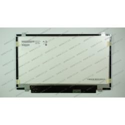 Матрица 14.0 B140RW02 V.0 (1600*900, 40pin, LED, SLIM (вертикальные ушки), матовая, разъем справа внизу) для ноутбука