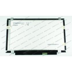 Матрица 14.0 B140XW03 V.0 (1366*768, 40pin, LED, SLIM (вертикальные ушки), глянцевая, разъем справа внизу, W=320mm) для ноутбука
