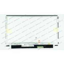 Матрица 10.1 LP101WH2-TLA2 (1366*768, 40pin, LED, SLIM(горизонтальные ушки), глянец,  разъем справа внизу, W=235) для ноутбука