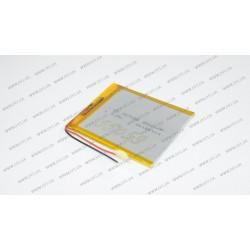 Батарея для планшета HJ 357085 3.7V 3500mAh (3.5mm*70mm*85mm)