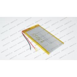 Батарея для планшета GT3860100 3.7V 3500mAh (3.8mm*60mm*100mm)