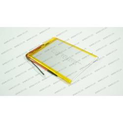 Батарея для планшета HJ 357090 3.7V 3500mAh (3.5mm*70mm*90mm)