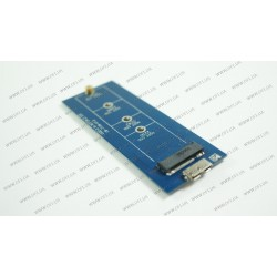 Карман внешний USB 3.0 под SSD M.2 (NGFF), алюминевый корпус, кабель USB 3.0 в комплекте