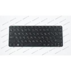 Клавиатура для ноутбука HP (Compaq Mini: 1003, 1103, 110-3500, 110-3510, 210-3000, 210-3001, 210-3002) rus, black (chiclet)