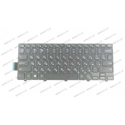 Клавиатура для ноутбука DELL (Inspiron: 3446, 3447, 5445) rus, black , подсветка клавиш