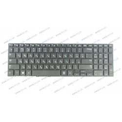 Клавиатура для ноутбука SAMSUNG (NP370R5E, NP450R5E, NP470R5E, NP510R5E) rus, black, без фрейма (ГРАВИРОВКА)