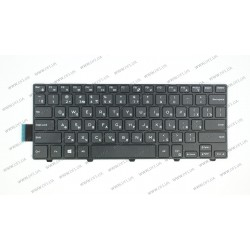 Клавиатура для ноутбука DELL (Inspiron: 3446, 3447, 5445) rus, black
