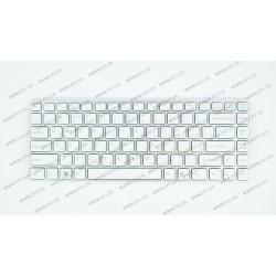 Клавиатура для ноутбука SONY (VGN-NW series) rus, white