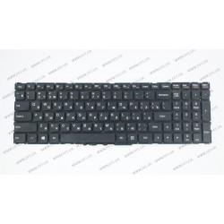 Клавиатура для ноутбука LENOVO (Flex 3-1570, Yoga 500-15) rus, black, без фрейма