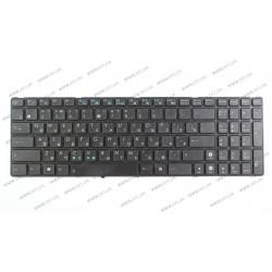 Клавиатура для ноутбука ASUS (A52, K52, X54, N53, N61, N73, N90, P53, X54, X55, X61), rus, black (K52 version) (OEM)