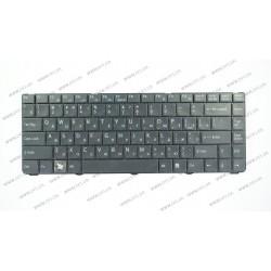 Клавиатура для ноутбука SONY (VGN-NR, VGN-NS series) rus, black, rev 2 (шлейф загнут)