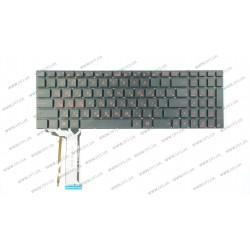 Клавиатура для ноутбука ASUS (G551, G771 series) rus, black, без фрейма, подсветка клавиш
